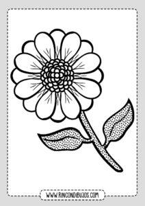 Colorear Dibujos de Flores Gratis