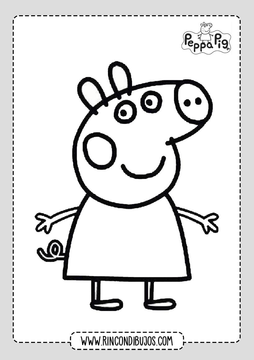 Dibujos De Peppa Pig Para Colorear Rincon Dibujos Colección de alexiomy yeckle • última actualización: rincon dibujos