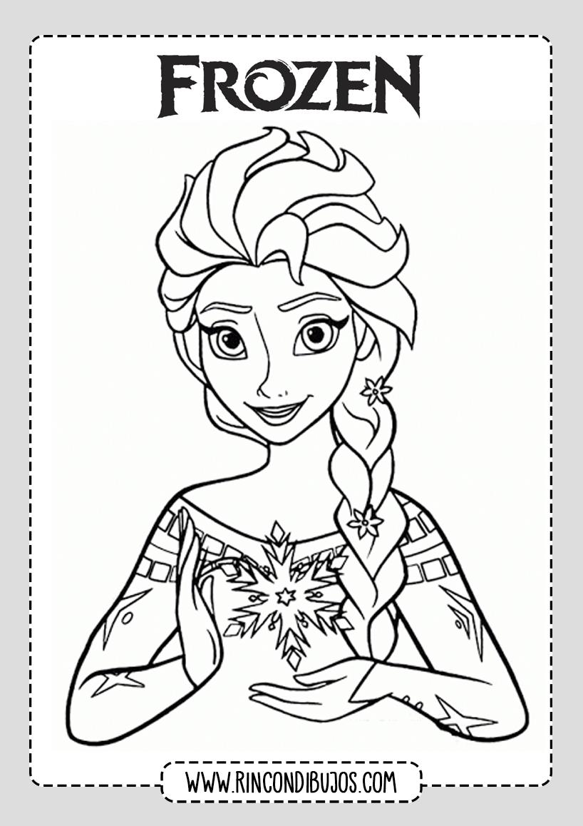 Dibujos Frozen 2 Para Colorear Rincon Dibujos