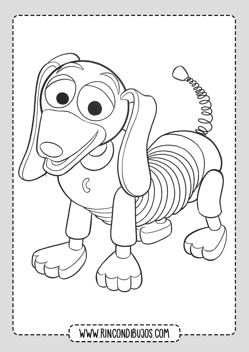 Dibujos Personajes Toy Story Colorear
