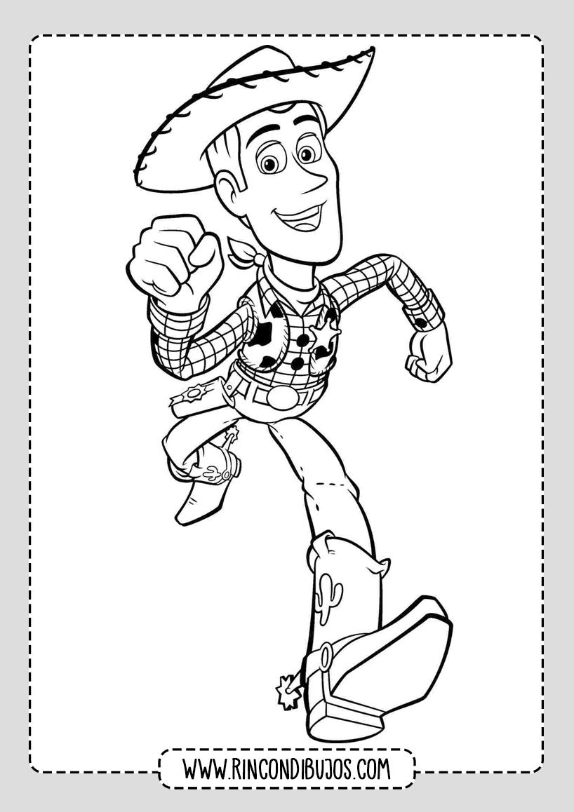 Dibujos Toy Story Colorear Buddy