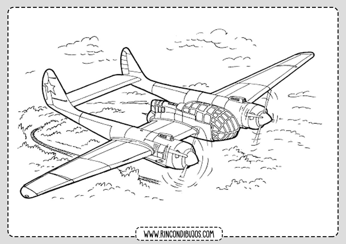 Dibujos de Aviones Bonitos
