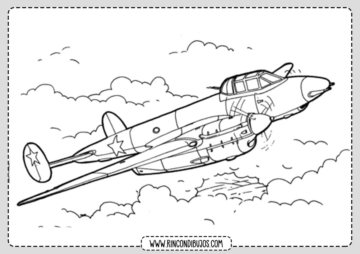 Dibujos de Aviones Volando
