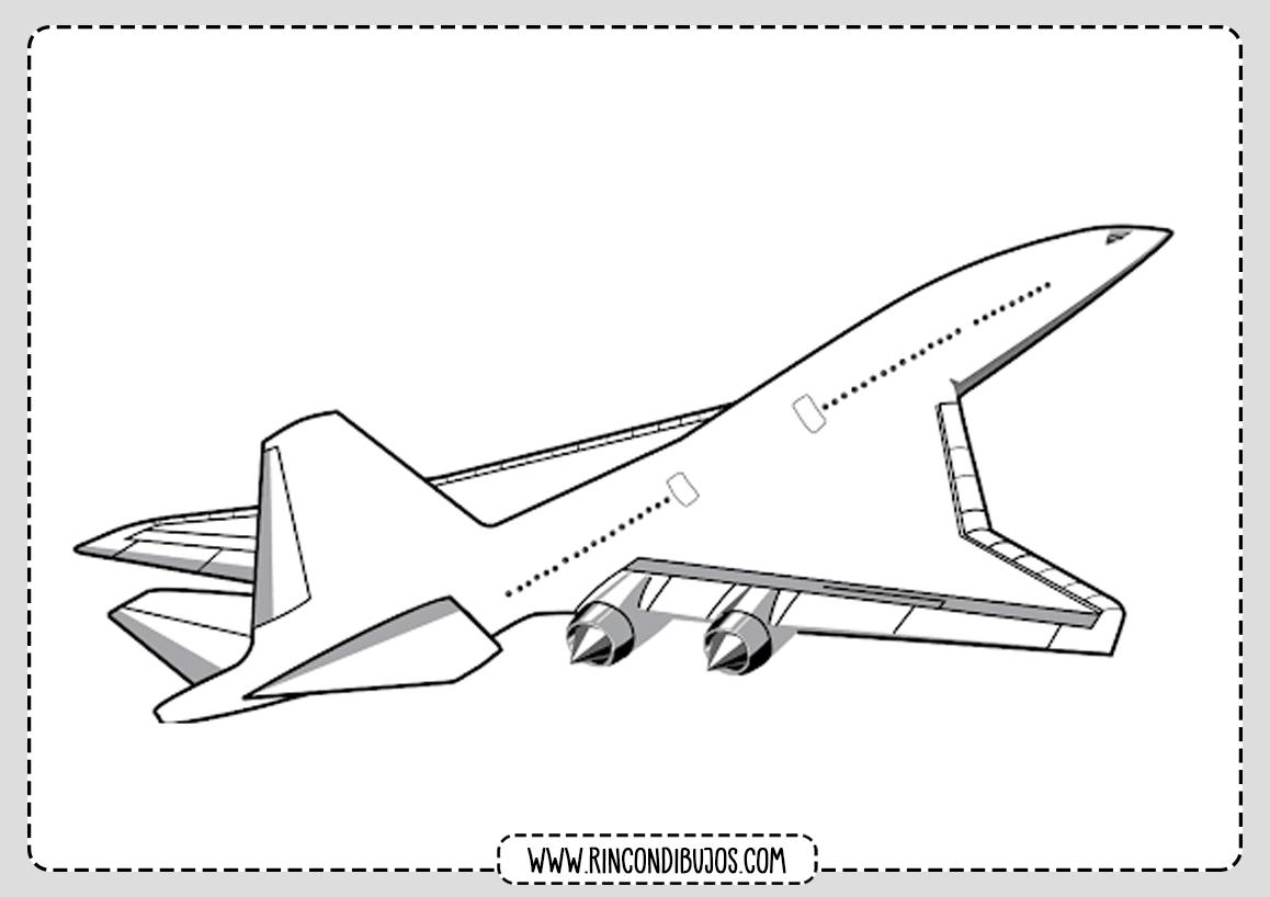 Dibujos de Aviones