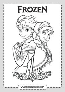 Dibujos De Frozen Para Colorear Imprimibles Y Gratis