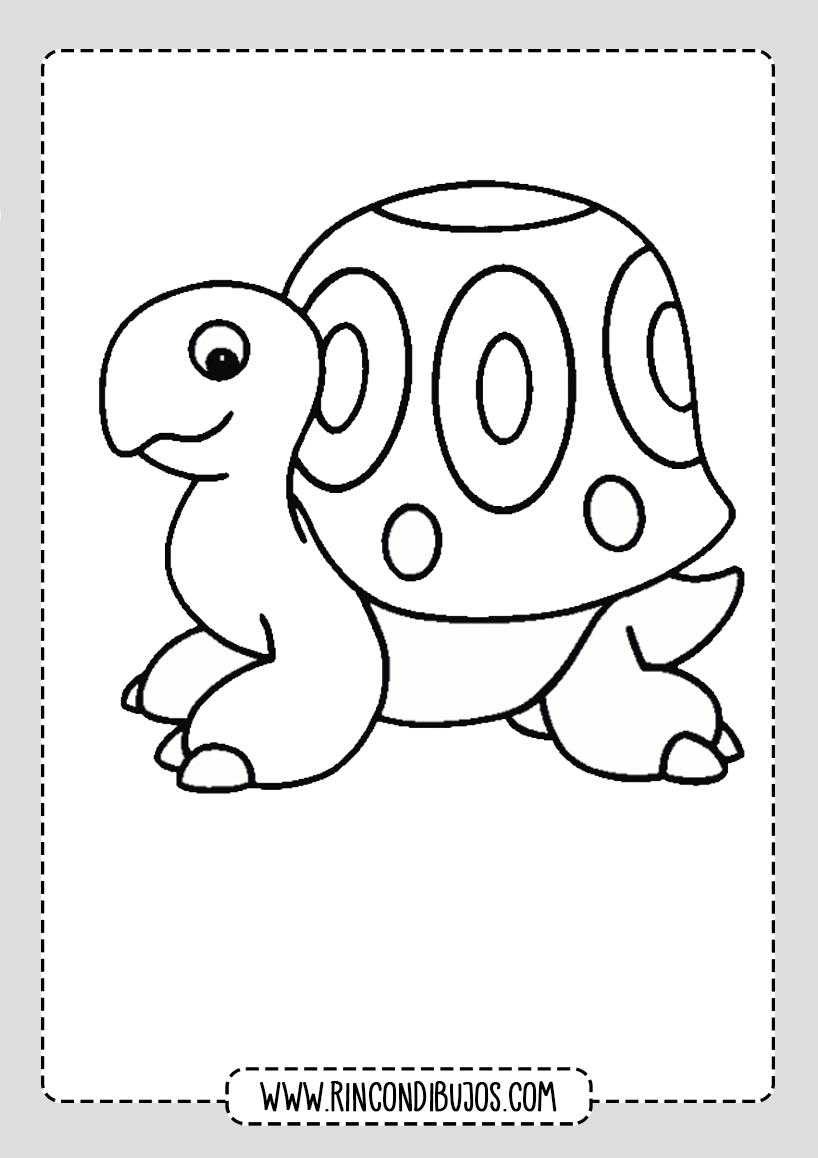 Dibujos de Tortugas Bonitos