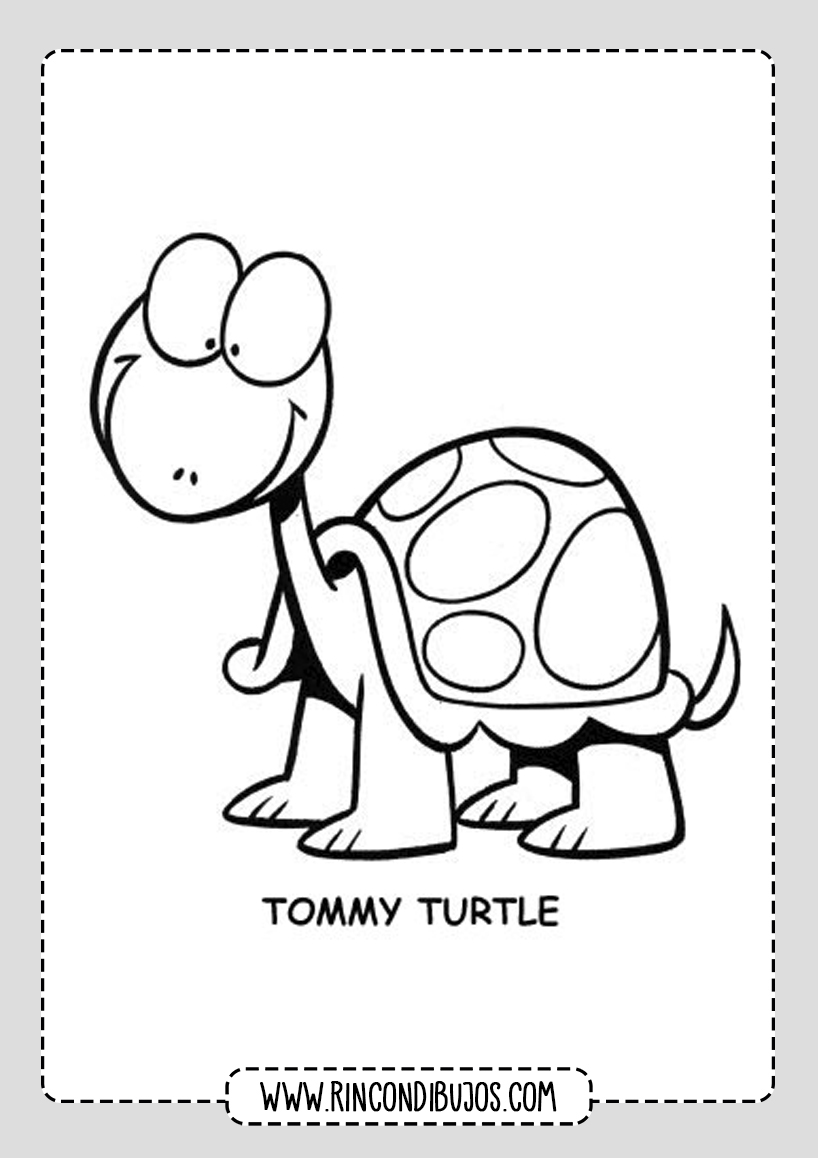 Dibujos de Tortugas Pintar