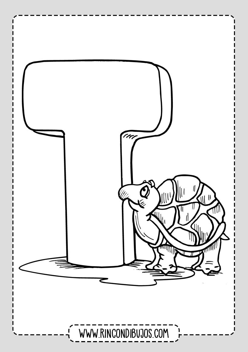 Dibujos de Tortugas para pintar