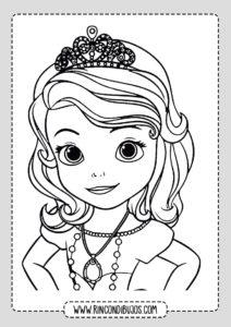 Dibujos de la Princesa Sofia