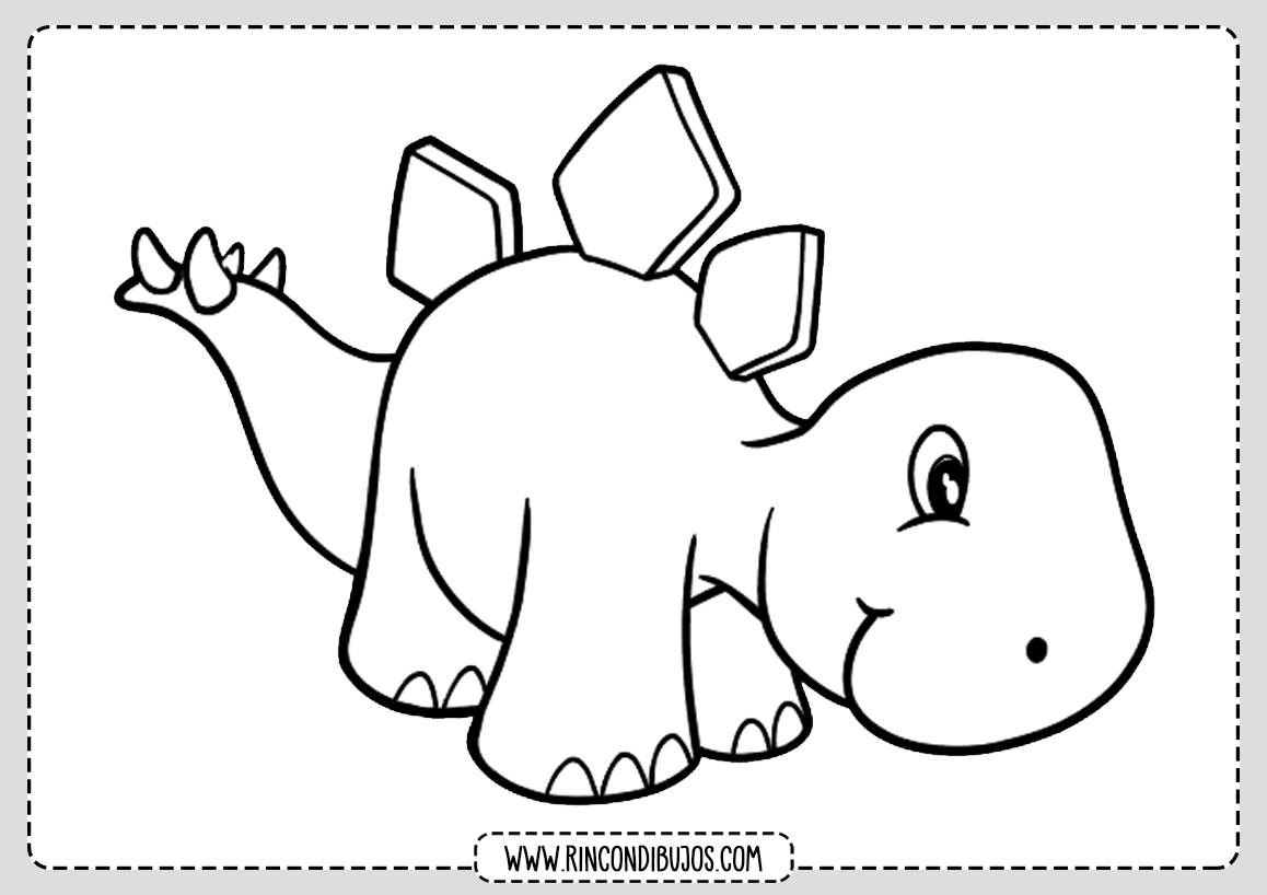 Dibujos De Dinosaurios Para Colorear Imprimir Y Colorear Escrito por dibujar en dibujar animales. rincon dibujos