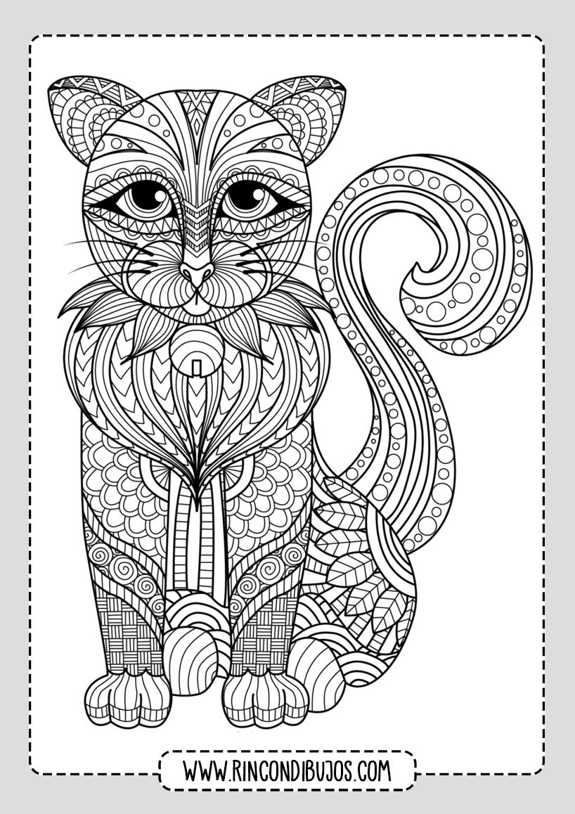 Mandalas de Animales para pintar
