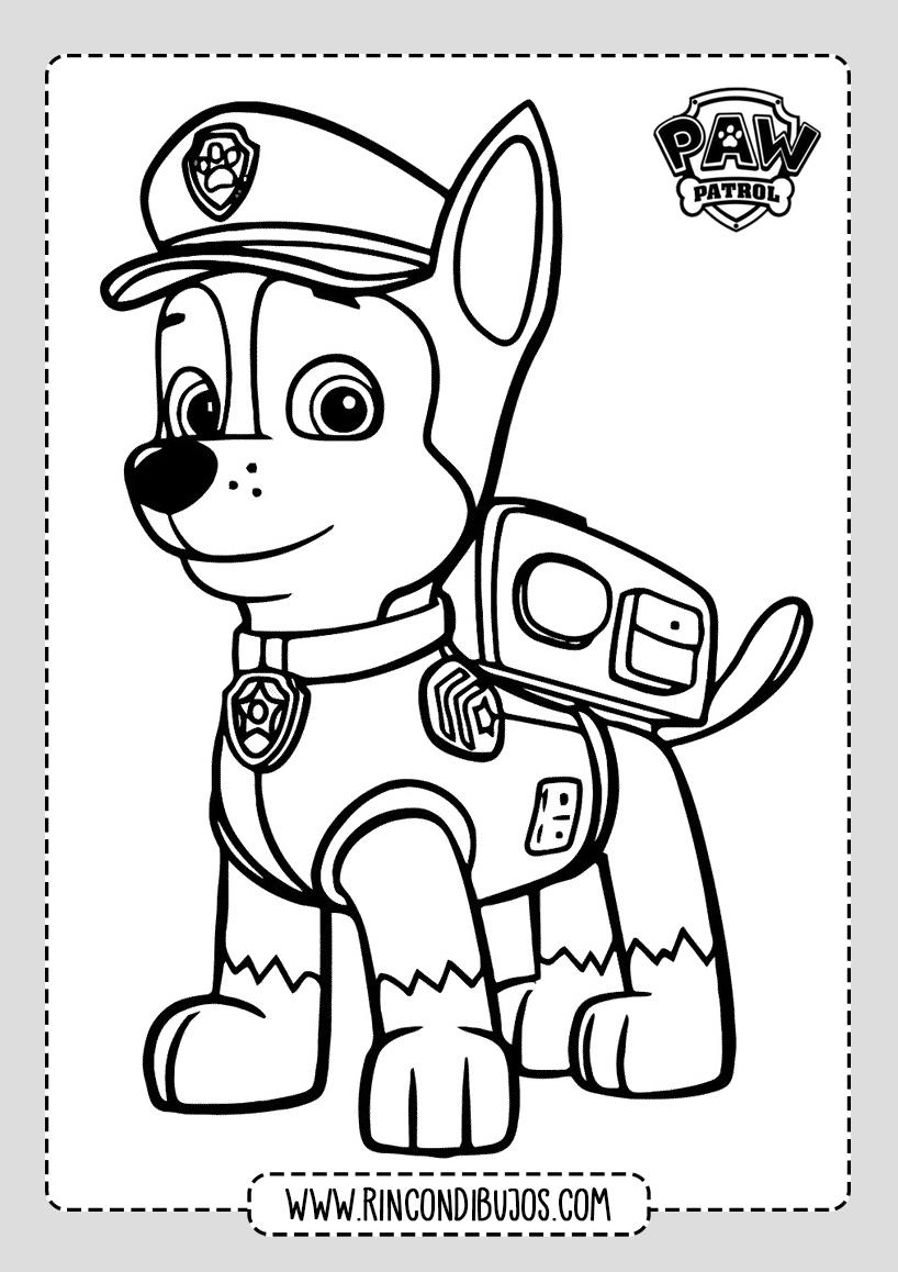 Patrulla Canina Dibujos Para Colorear Rincon Dibujos