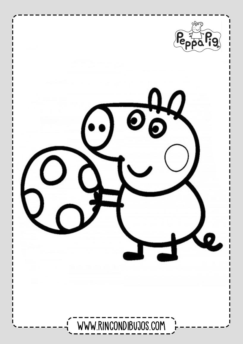 Peppa Pig Para Colorear y Pintar