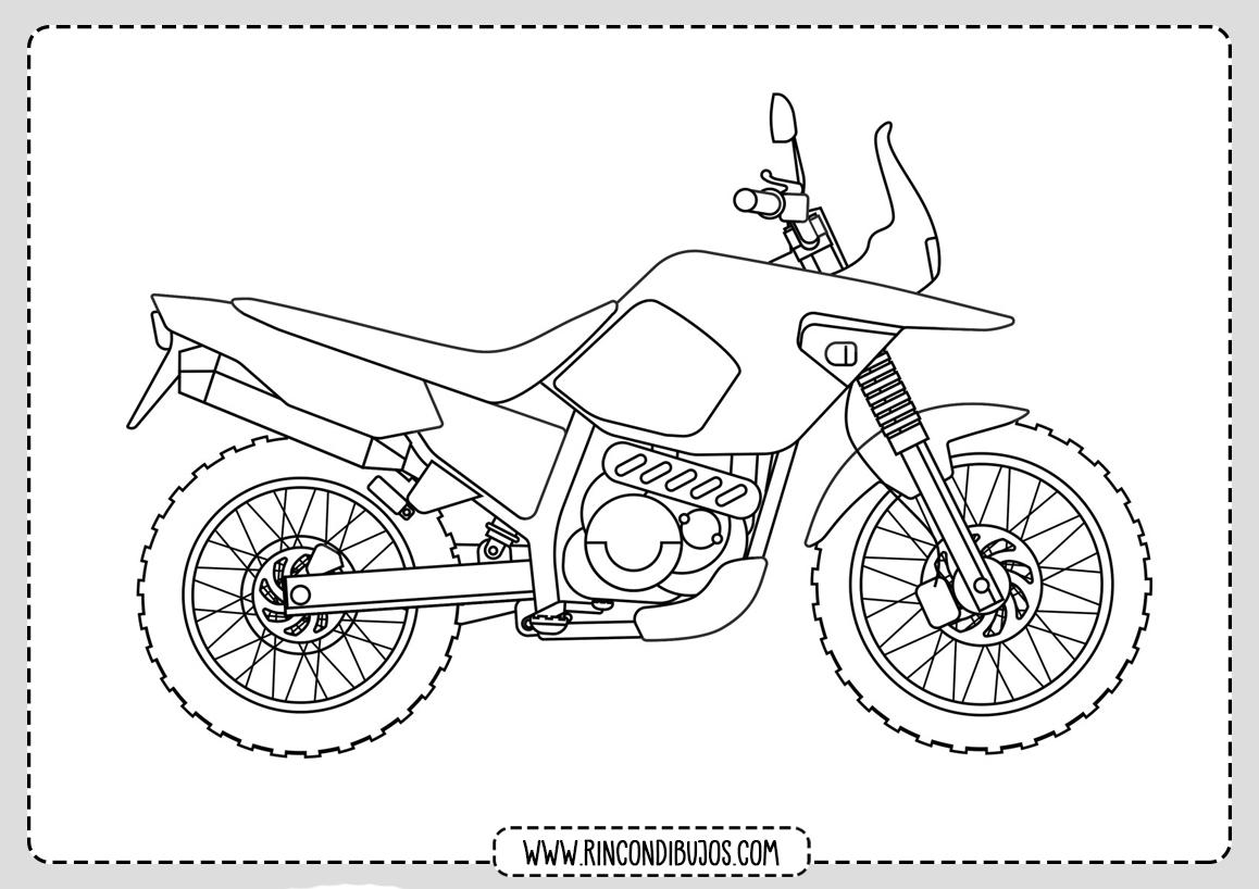 Pintar Dibujos de Motos