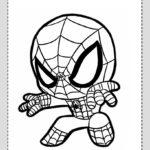 Spiderman Dibujos Colorear