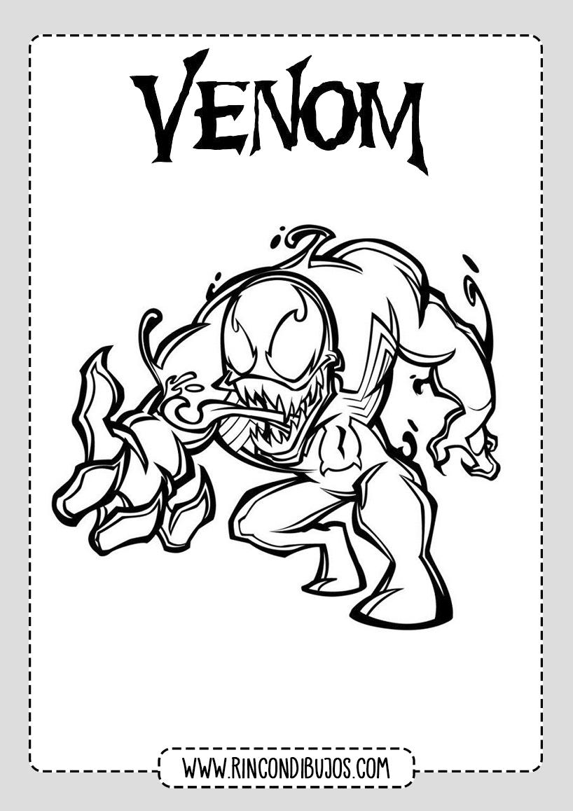 Venom Dibujos