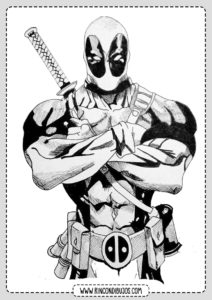Como dibujar y Colorear Deadpool