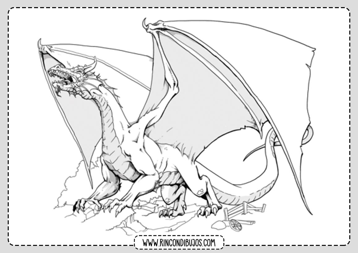 Dibujo de Dragon