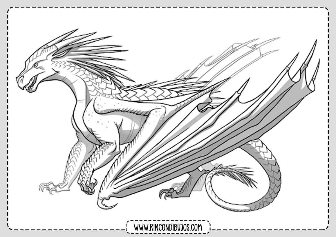 Dibujos de Dragones Bonitos