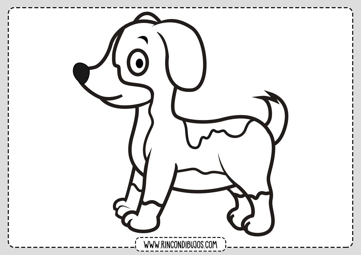 Dibujos de Perros para Colorear