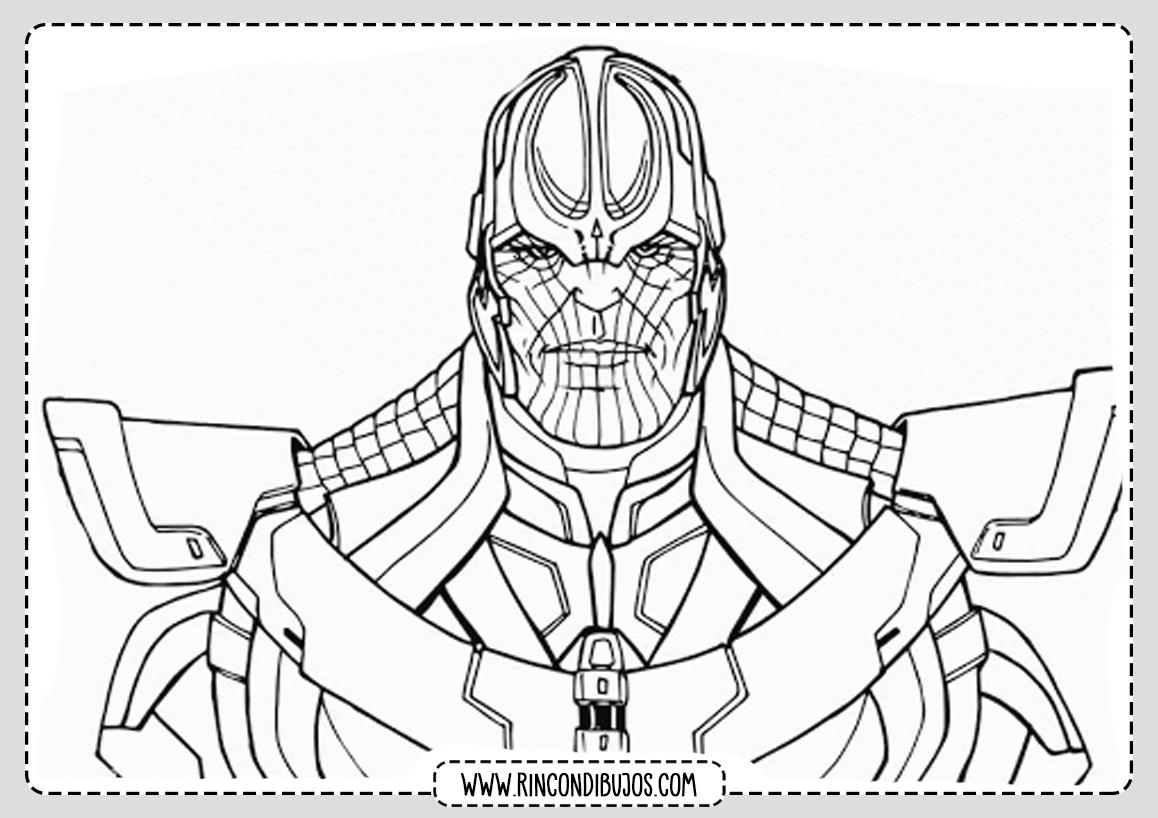 Dibujos de Thanos