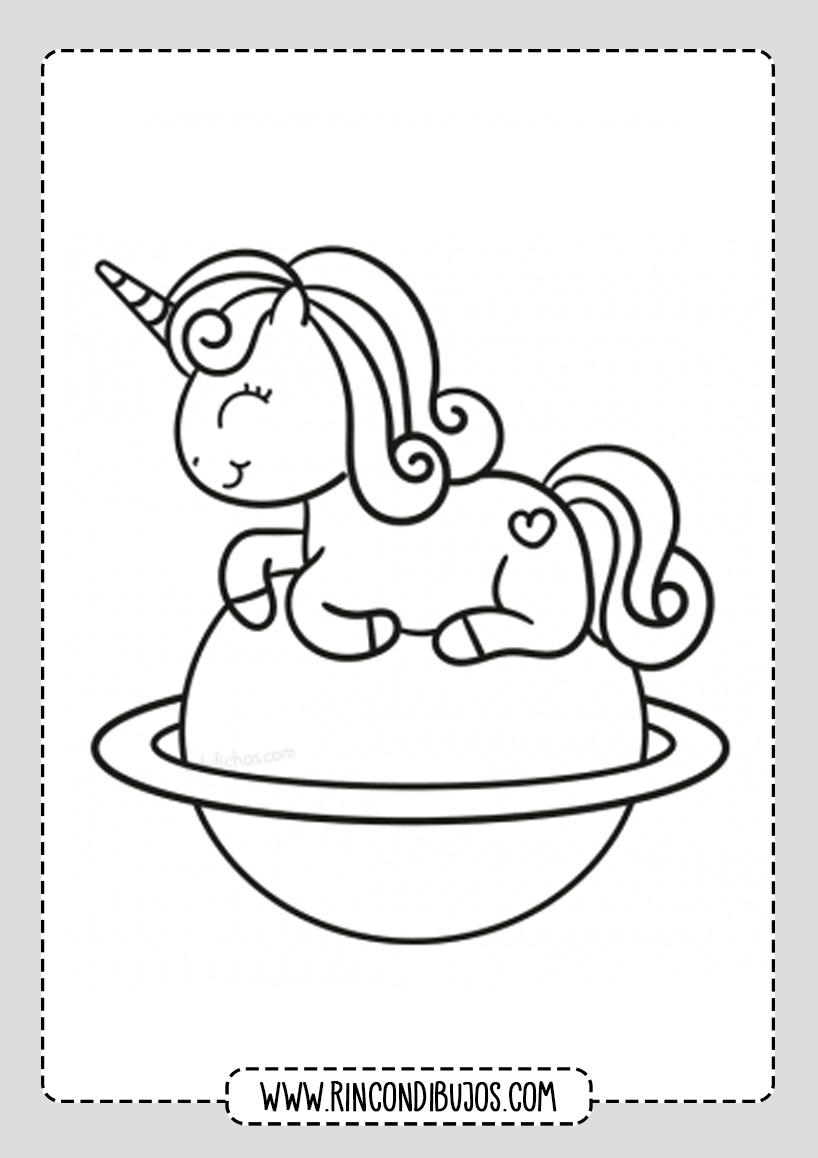 Bonitos Dibujos de Unicornios
