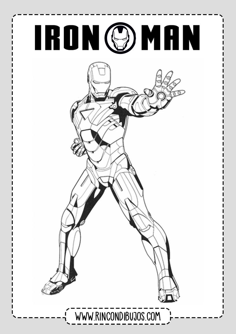 Buenos Dibujos de Iron Man