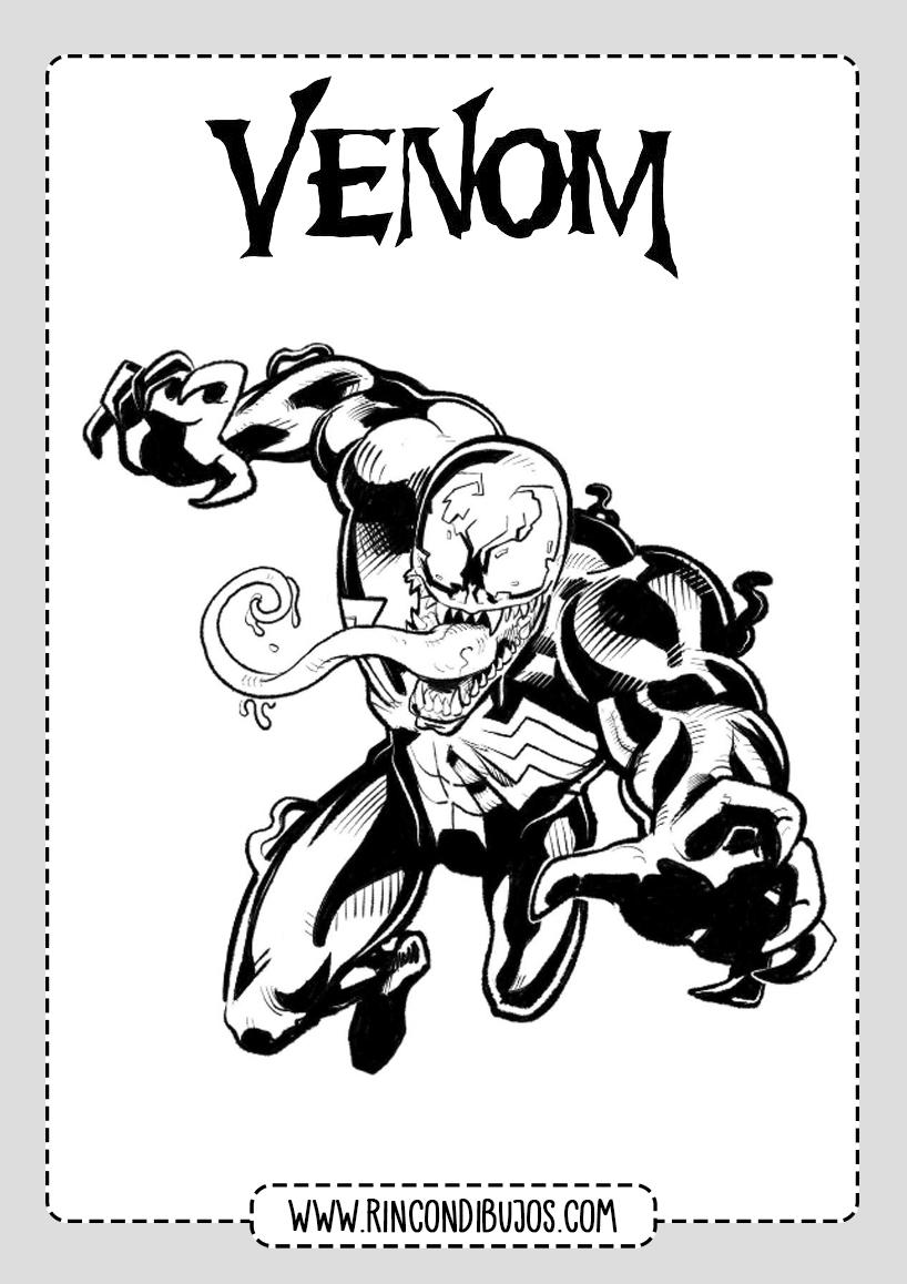 Colorear Venom