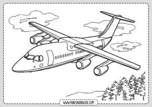 Dibujo de Avion