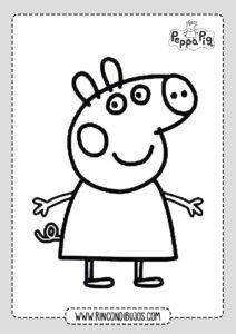 Dibujos Faciles de Peppa Pig