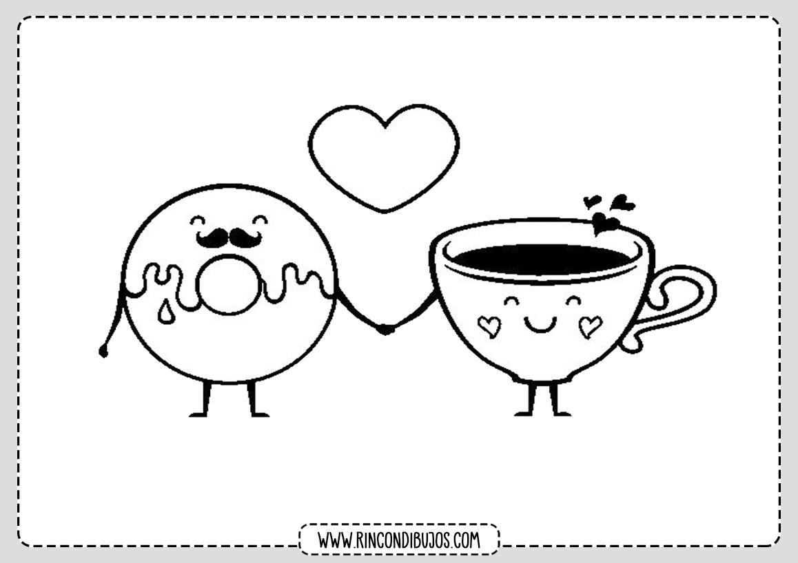 Dibujos de Amor para Colorear