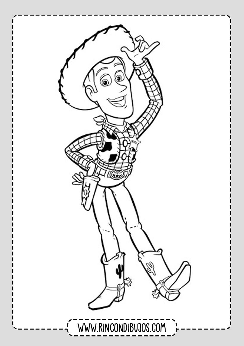Dibujos de Buddy Para Colorear Toy Story