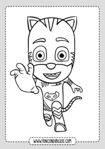 Dibujos de PJ Masks para colorear