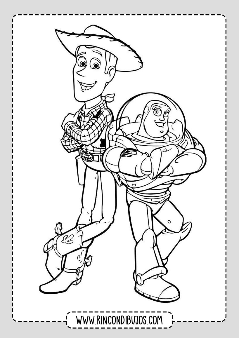 Dibujos de Toy Story Para Pintar