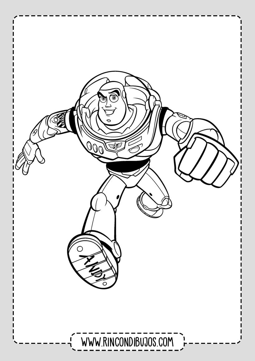 Dibujos de Toy Story Para colorear Buzz