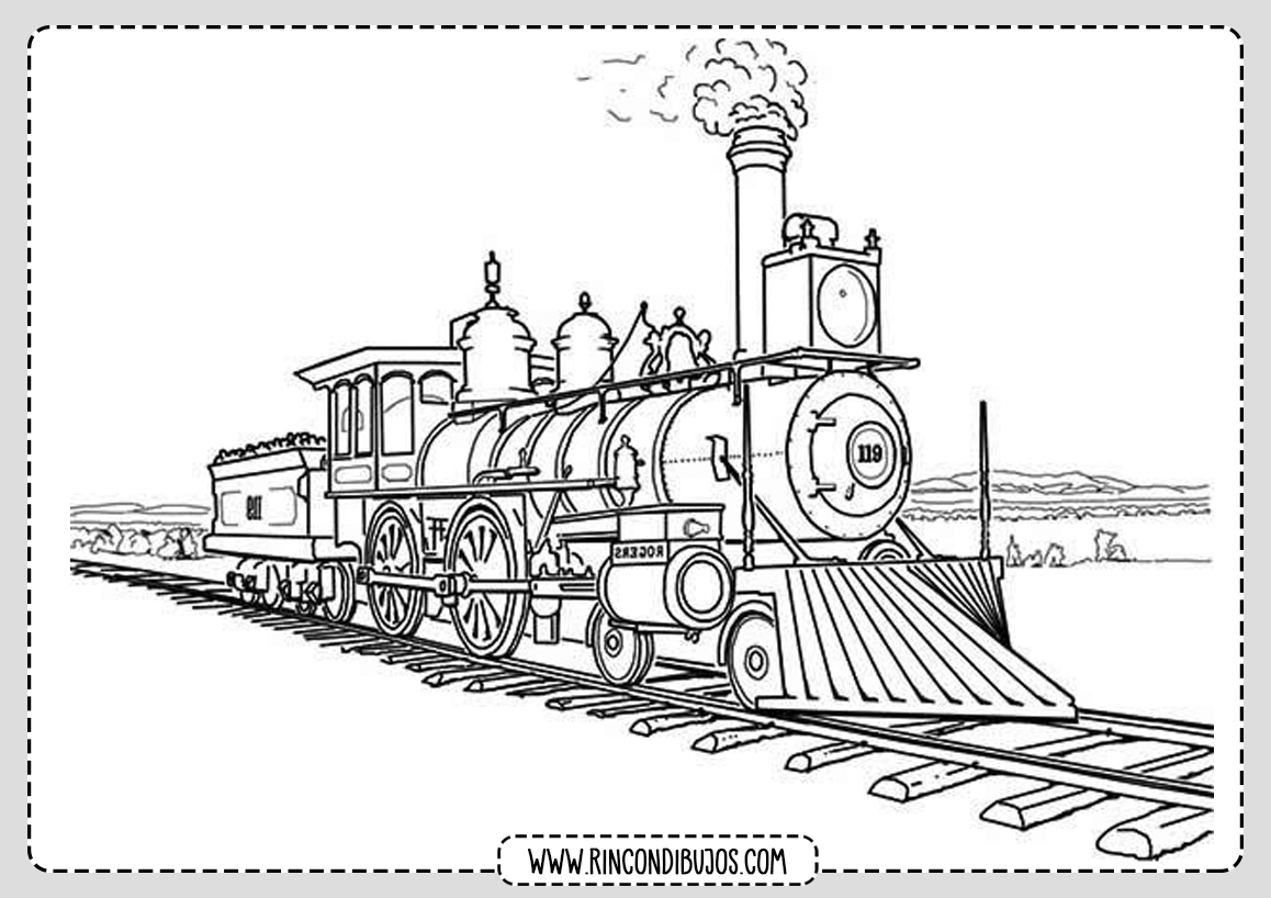 Dibujos de Trenes