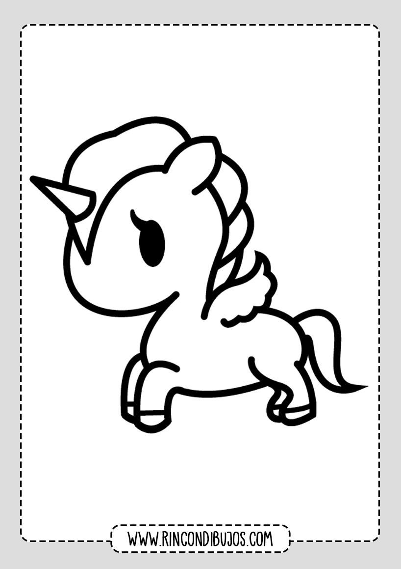 Dibujos De Unicornios Para Imprimir Y Colorear Rincon Dibujos