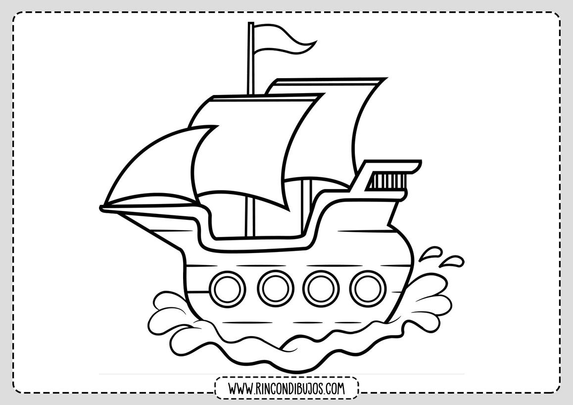 Barco Dibujo