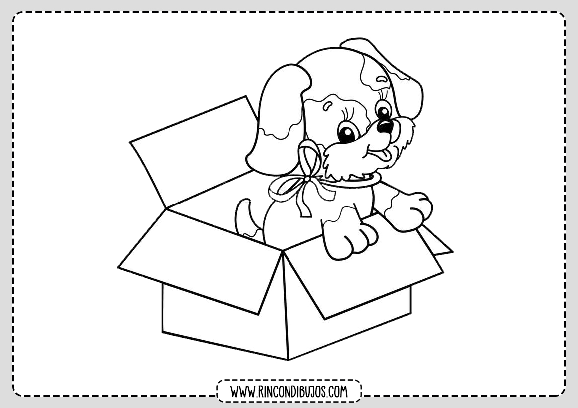 Dibujar un Perro Dibujo