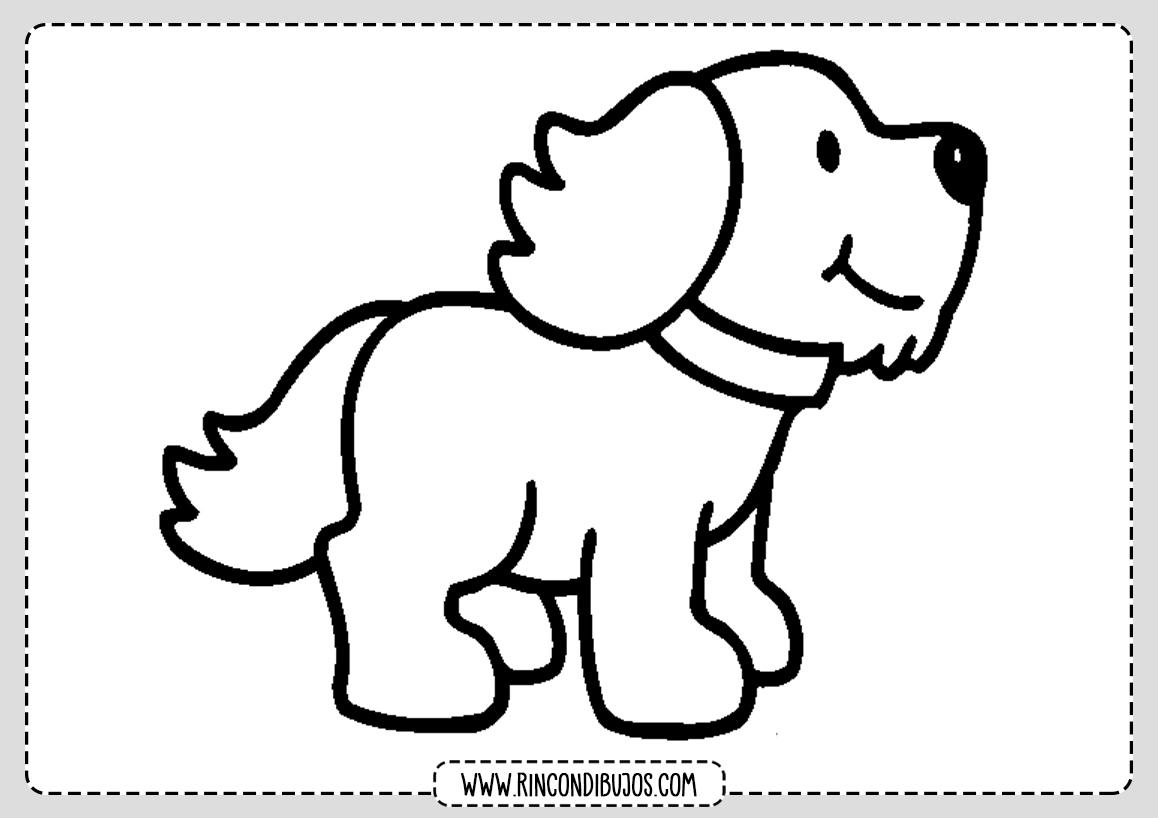 Dibujo Perro Colorear