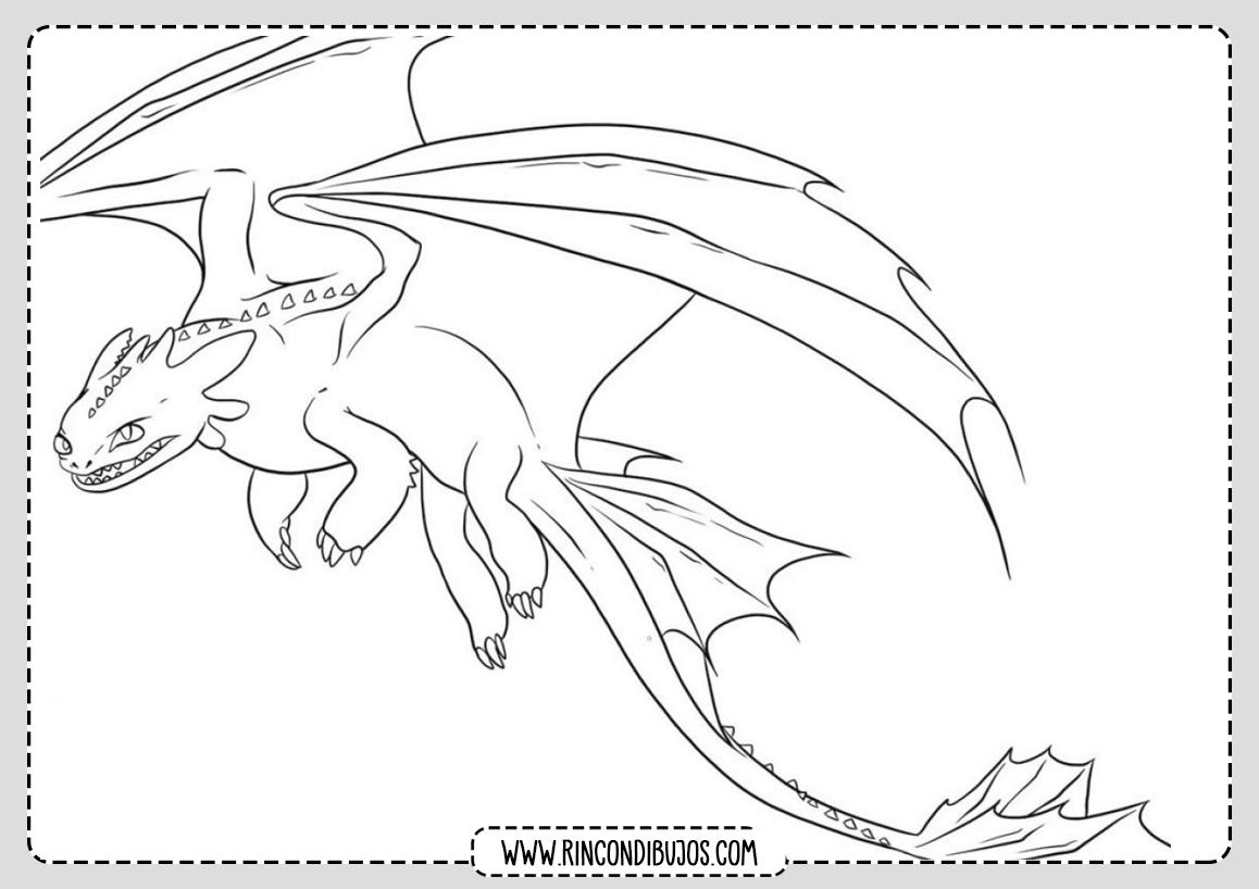 Dibujo entrenar a mi dragon
