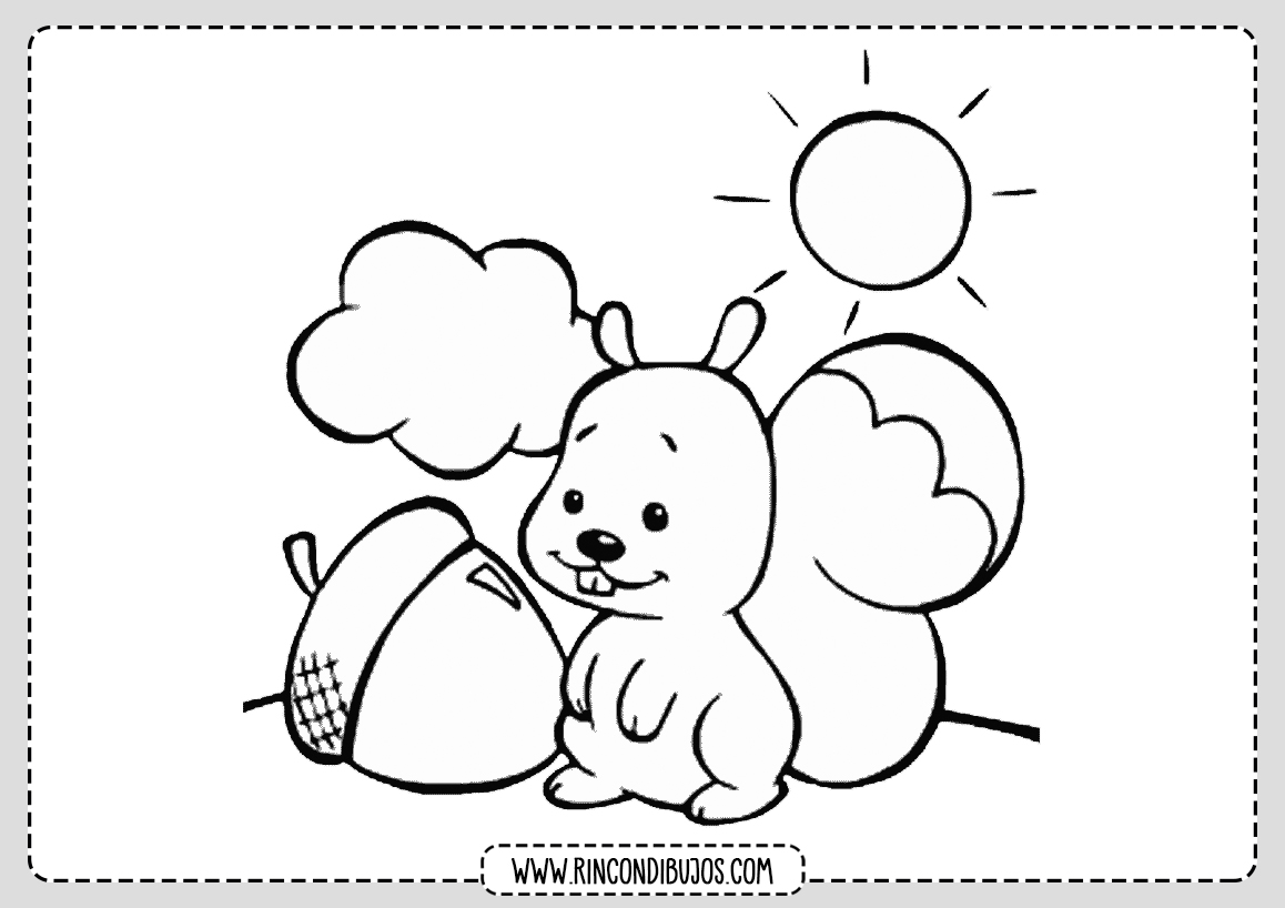 Dibujos Bonitos infantiles para colorear