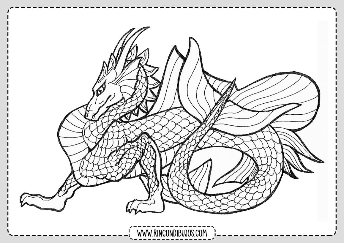 Dibujos de Dragones Gratis