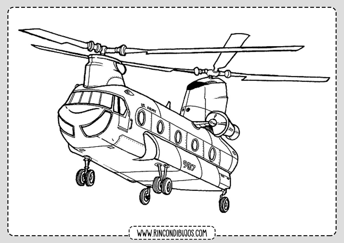 Dibujos de Helicopteros