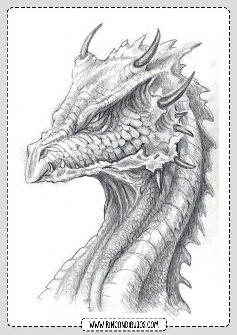 Plantillas con Imagenes de Dragones
